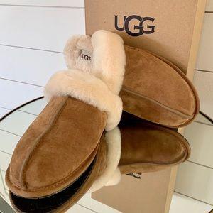 UGG Scuffette II Slippers Chestnut